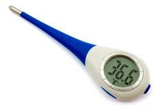 Elektronische thermometer Royalty-vrije Stock Afbeeldingen