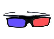 Elektronische three-D Brillen für LCD-Fernsehen Stockfotografie