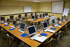 Elektronische Trainings-Konferenz Lizenzfreie Stockfotografie