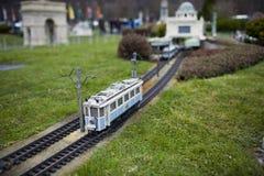 Elektronische trein Stock Afbeeldingen
