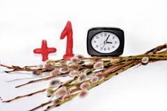 Elektronische Uhr Lizenzfreie Stockfotografie