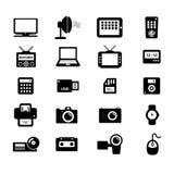 Elektronisch Pictogram Royalty-vrije Stock Afbeeldingen