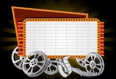 Elektronische Werbefläche Stockfotografie