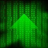 Elektronische Zahlen auf lager Lizenzfreies Stockfoto