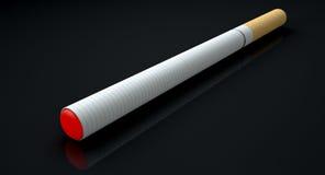 Elektronische Zigarette lokalisiert Lizenzfreies Stockbild