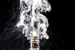 Elektronische Zigarette vape Wolke Stockbild