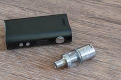Elektronische Zigarettennahaufnahme stockfoto