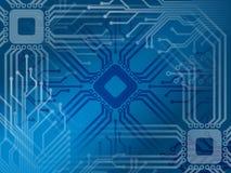 Elektronischer abstrakter Hintergrund 2 Stockfoto