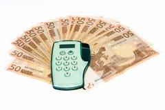 Elektronischer Bankverkehr Stockfotos