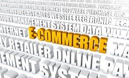 Elektronischer Geschäftsverkehr Lizenzfreies Stockfoto