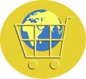 Elektronischer Geschäftsverkehr lizenzfreie abbildung