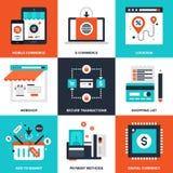 Elektronischer Geschäftsverkehr Lizenzfreie Stockfotos
