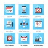 Elektronischer Geschäftsverkehr Stockfotos
