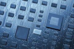 Elektronischer Hintergrund abstrakten Begriffs Technologie-Digital mit c Lizenzfreie Stockfotos