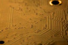 Elektronischer Kreisläuf Stockbild