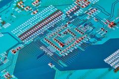 Elektronischer Leiterplatteabschluß oben Stockfotos