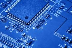 Elektronischer Leiterplatteabschluß oben Lizenzfreies Stockfoto