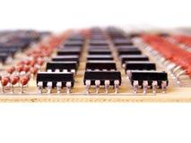 Elektronischer Vorstand Stockbild
