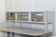 Elektronischer Werktisch Lizenzfreies Stockfoto