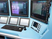 Elektronisches Überwachungsgerät für Luftfahrt stockfotos