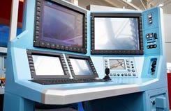 Elektronisches Überwachungsgerät für Luftfahrt stockbild