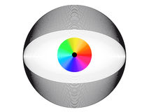 Elektronisches Auge Lizenzfreies Stockbild