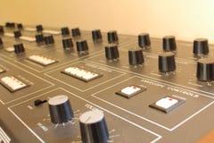Elektronisches Klavier Stockfoto