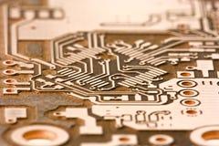 Elektronisches Muster Lizenzfreies Stockbild