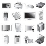 Elektronisches Set Lizenzfreies Stockfoto