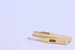 Elektronisches Termometer. Lizenzfreie Stockbilder