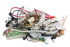 Elektronisk avfalls Royaltyfri Bild