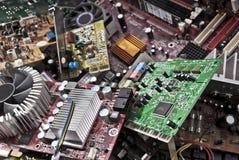 Elektronisk avfalls Arkivfoto