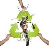 elektronisk avfalls Royaltyfri Fotografi