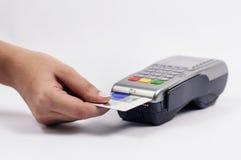 Elektronisk betalning Royaltyfri Fotografi
