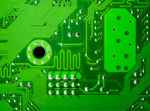 elektronisk brädeströmkrets royaltyfri bild