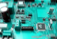 elektronisk brädeströmkrets arkivbilder