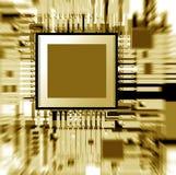elektronisk brädeströmkrets Arkivfoto