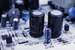 elektronisk brädeströmkrets Fotografering för Bildbyråer