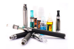 elektronisk cigarett Arkivfoto