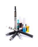 elektronisk cigarett Royaltyfri Fotografi