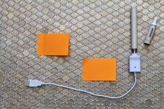 elektronisk cigarett Arkivfoton
