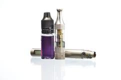 elektronisk cigarett royaltyfria foton