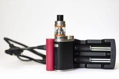 elektronisk cigarett Royaltyfria Bilder