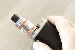 elektronisk cigarett Fotografering för Bildbyråer