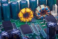 elektronisk coil arkivbild