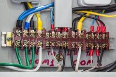 Elektronisk kontroll och industriellt Arkivbilder