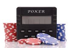 elektronisk lek för kasino Royaltyfri Foto