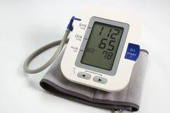 elektronisk medicinsk tonometer Arkivbild