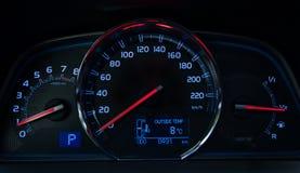 elektronisk navigering för bilkonsolinstrumentbräda Royaltyfria Foton