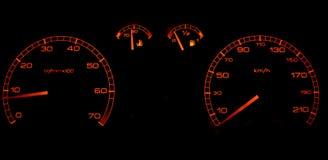 elektronisk navigering för bilkonsolinstrumentbräda royaltyfri fotografi